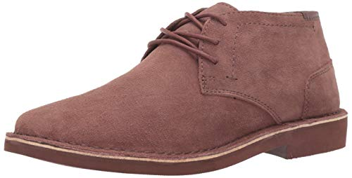 Kenneth Cole REACTION Men's Desert Sun-Rise Chukka Boot, Mauve, 11 M US