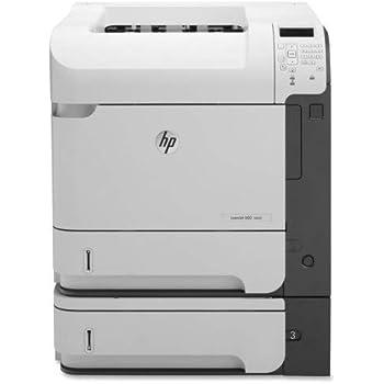 HP LaserJet Enterprise 600 M601N Laser Printer W//Very Low Page Count CE989A