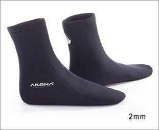 AKONA Tall Sock, 10/2mm