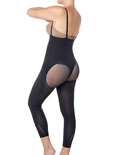 Leonisa Women's Invisible Seamless Compression Bodysuit Control Shaper with Rear Lift