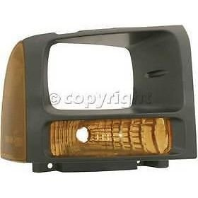 Diften 114-A6131-X01 - New Corner Light Parking Side Marker Lamp Passenger Right F450 Truck F550 RH