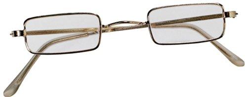 703017 Glasses Rectangular Wire Rim