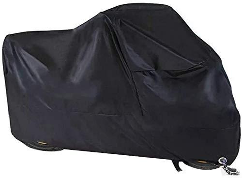 Motorhoes, Wintervast Waterdicht Motorzeil Buiten 210D Oxford Stof Met Vergrendelingsgaten Stofdicht Motorzeil voor…