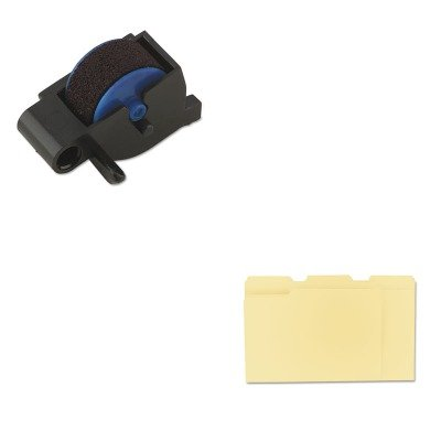 - Value Kit - Dymo Replacement Ink Roller for DATE MARK Electronic Date/Time Stamper (DYM47001) and Universal File Folders (UNV12113) ()