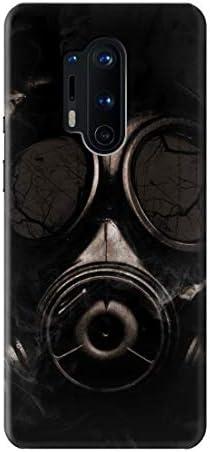Innovedesire Gas Mask Funda Carcasa Case para OnePlus 8 Pro