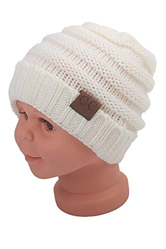 f48bc94f411bf Soft Infant Toddler Winter Hat Knit Thick Beanies Boys Girls Winter Baby  Caps