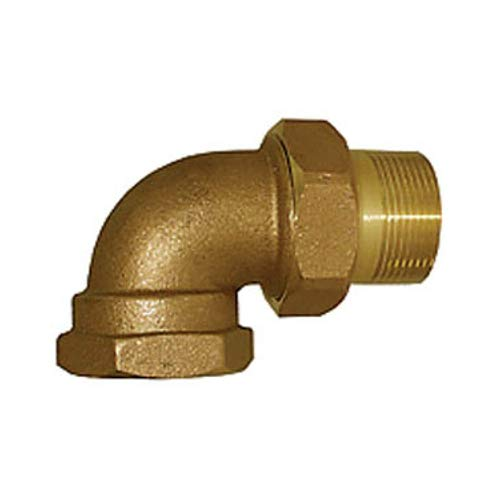 Legend Valve 110-169 IPS Bronze Union Elbow 3.1x3.9x2.1 3.1x3.9x2.1