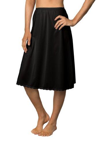 Nylon Slip Skirt (Shadowline Flare Half Slip, 25