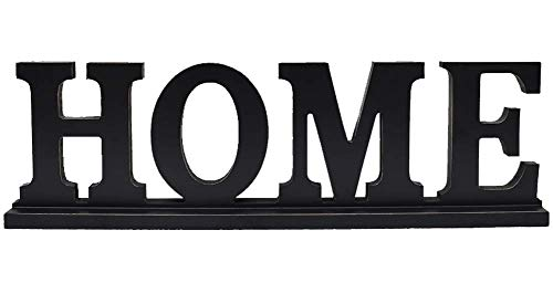 (Home Table Sign Wood Kitchen Table Decor, Rustic Wooden Block Letters Home Sign Primitive Farmhouse Decoration Freestanding Words Sign House Fireplace Centerpiece Countertop Deskto)