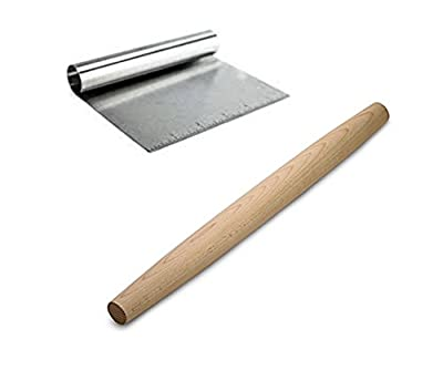 Rolling Pin and Dough Cutter to Prep and Bake Your Family Favorites