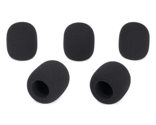10 pcs Brand New Zebra Black High Quality Sound Microphone
