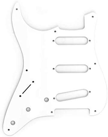 Pickguard For Fender Strat NEW 8-Hole 1-Ply BLACK
