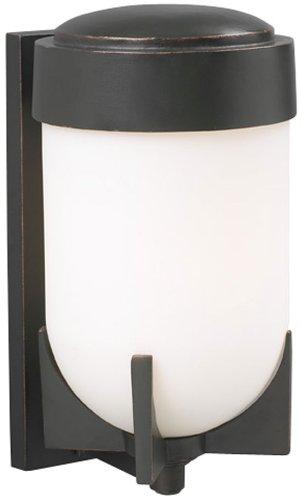 PLC Lighting 31758 ORB Firenzi Collection 1 Light Outdoor Fixture, Oil Rubbed Bronze