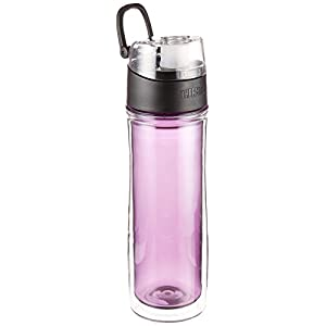 Thermos 18 Ounce Double Wall Tritan Hydration Bottle, Purple