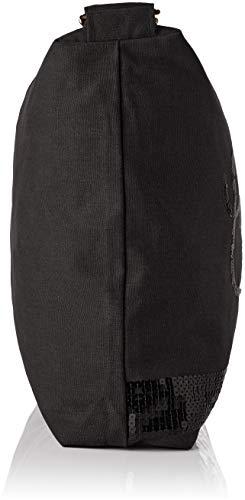 Cerises 4 0110 Le Hombro Glitter Temps De Mujer Negro Bolsa Des noir f4xREA