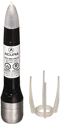 Genuine Acura Accessories (08703-NH814PAA-A1) Aspen White Pearl II Touch-Up Paint - 0.25 fl. oz. (White Aspen Pearl)