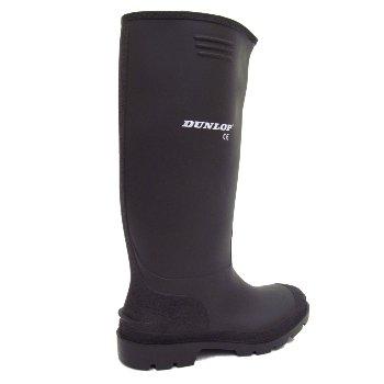 gomma con gambale Dunlop uomo alto colore da di Nero nero Stivali ESUnwXSq7