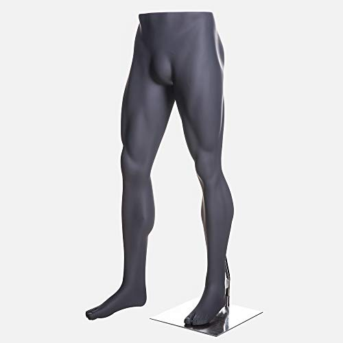 (MZ-HEF16LEG) High end Quality. Eye Catching Male Headless Mannequin Leg, Athletic Style. Standing Pose. by Roxy Display (Image #1)