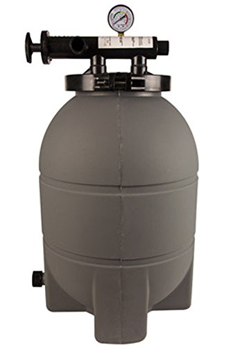 Rx Clear Patriot Sand Filter | for Intex/Pop Up Above Ground Pools | 12 Inch | 60 Lb Sand Capacity | for Pools Up to 10,500 Gallons