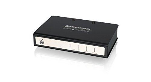 IOGEAR 2-Port Splitter with 4K HDMI (GHSP8422B) by IOGEAR