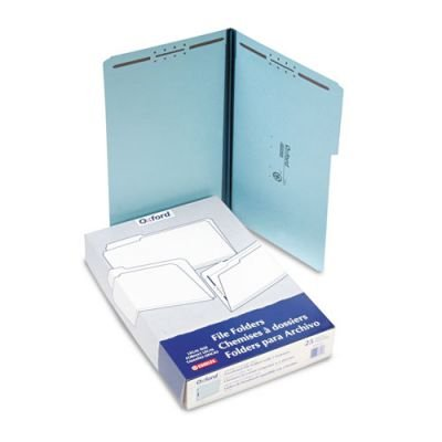 Pendaflex FP313 Pressboard Folders, 2 Fasteners, 1