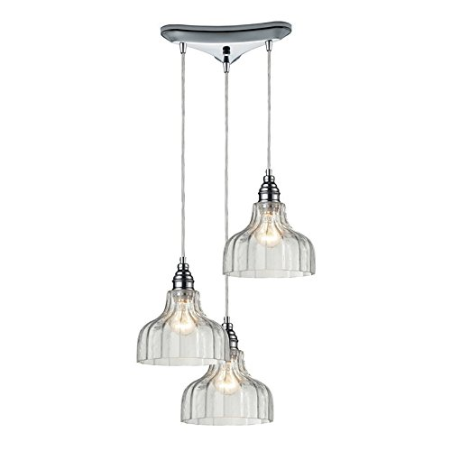 Elk Lighting 3 Light Pendant in US - 3