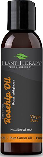 Plant Therapy Rosehip (Extra Virgin) Carrier Oil. A Base Oil for Aromatherapy, Essential Oil or Massage use. 4