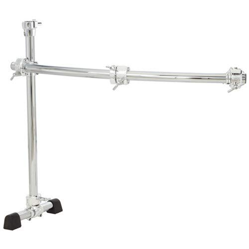 (Gibraltar GCS150C Chrome Series 40-Inch Curved Rack Side with Quick Release T Clamps & RMAAs)