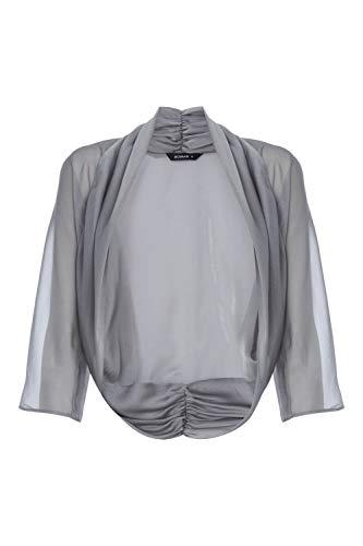 Originals Roman En Confortable Tulle Noir Bolero Gris 6x1xqwdp