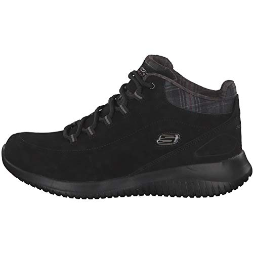 Skechers Just Flex Damen Stiefeletten Chill Schwarz Ultra wwABO