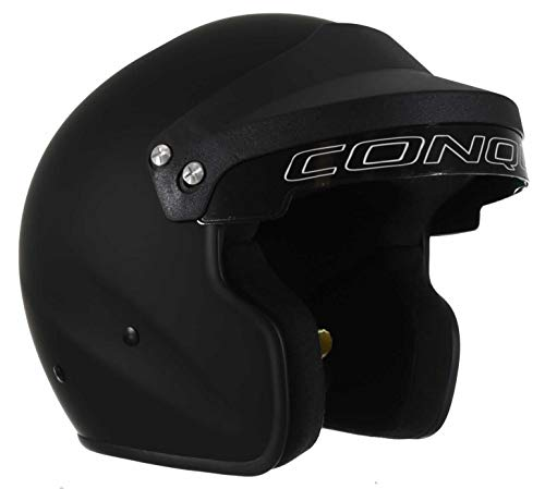 (Conquer Snell SA2015 Approved Open Face Racing Helmet)