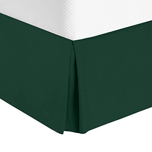 Nestl Bedding Pleated Bed Skirt - Luxury Microfiber Dust Ruffle - Sleek Modern Bed Skirt - 14