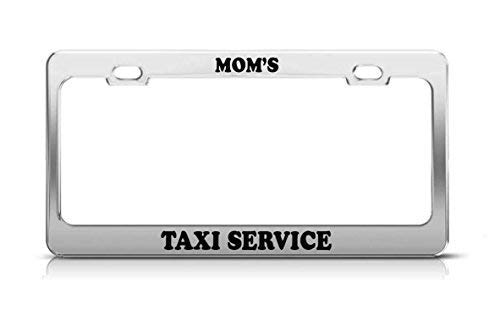 LLgLOOhOPPPJDh Aluminum Metal License Plate Frame Tag Cover Screw Caps US and Canada