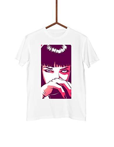Man T-Shirt | Pulp Fiction - Mia Wallace | Streetwear | (S, -
