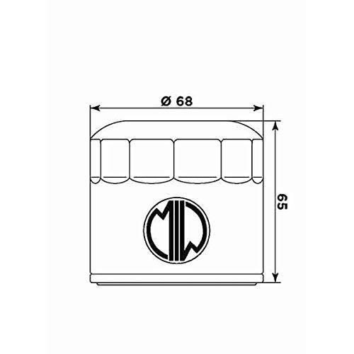 MIW 268191 Filtro Olio