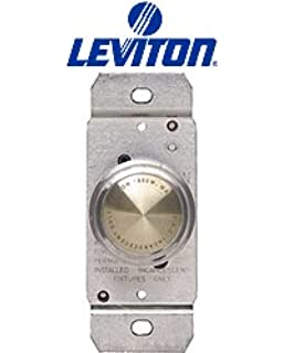 New in Box Model 6684 Box of 4 Leviton 3 Way Lighted Push Dimmer Switch