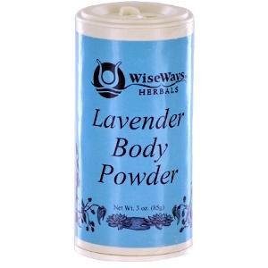WiseWays Herbals Lavender Body Powder, 3 ounces