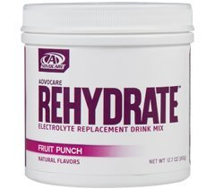 Advocare Rehydrate Electrolyte Replacement Drink Mix Fruit Punch 12.7 oz