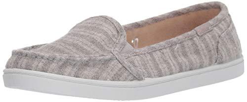 Roxy Women's Minnow Slip On Sneaker Shoe, Grey Heather 5 M US ()