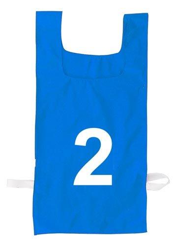 ChampionスポーツNumbered Heavyweight Pinnie B000UGYBP4 ブルー ブルー