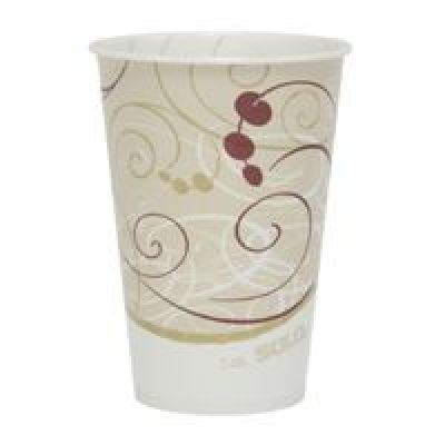 SOLO - 7 OUNCE PAPER COLD CUP WAXED 2000/CASE SYMPHONY - 670-R7N-J8000