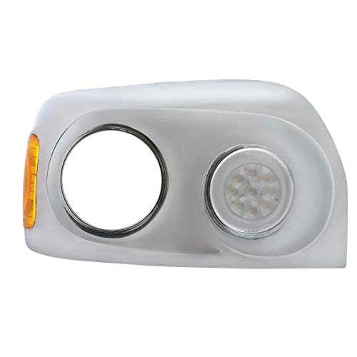 21 High Power LED 05+ Freightliner Century Glo Signal Light - Amber LED/Clear Lens by United Pacific (Image #7)