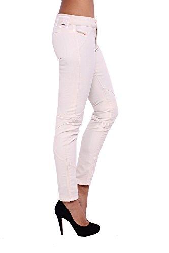 DIESEL - Jeans Mujer BISZOU 67I - Super Slim - Legging - Stretch Beige