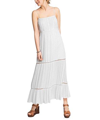 Esprit Sommerlich, Vestido para Mujer Blanco (WHITE 100)
