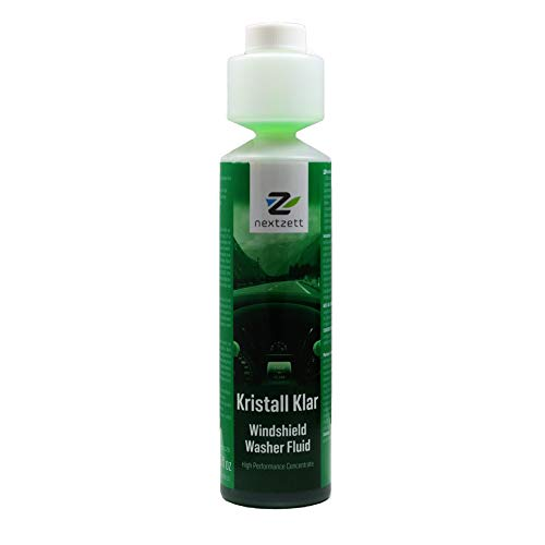 nextzett 92100815 Kristall Klar Washer Fluid 1:200 Concentrate - 8.5 fl. oz