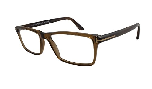 Tom Ford Rx Eyeglasses - TF5408 Brown / Frame only with demo - Women Tom Clothing Ford