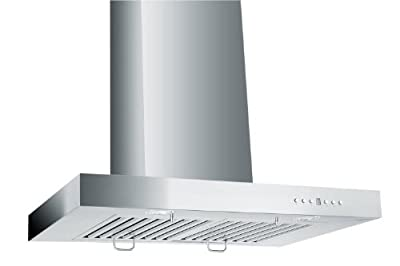 Z Line KE-30-LED Stainless Steel Wall Mount Range Hood, 30-Inch
