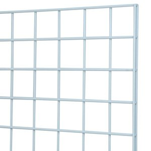 White grid panel 2x5