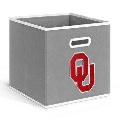 - NCAA Oklahoma Sooners Fabric Storage Drawer