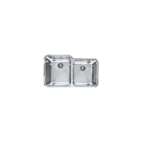 Franke LAX16036 Largo 32-Inch Large/Medium Double Bowl Undermount Kitchen Sink by Franke by Franke
